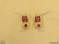 Chokar Antique Earrings