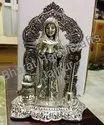 Silver Plated Kotla Devi