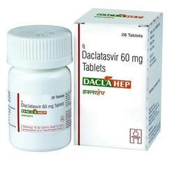 Daclatasvir 60 mg Tablets