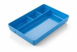 Polypropylene Tray with Compartment