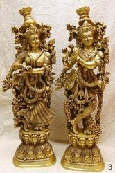 Beautiful Radha Krishna Statue 29 x 9x 6 Inches
