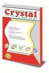 MINI OFFSET POLYESTER PLATE - CRYSTAL TANGO