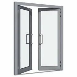 Aluminum Rectangle Hinged Glass Window, For Home,Office etc