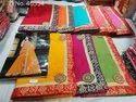 Cotton Kota Doria Supernet Saree
