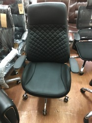 Black Cushion Boss High Back Chair