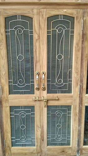 Wood Decorative Wooden Door