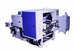 Thermal Roll Making Machine with 1 Color Online Flexo Printing