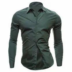 Cotton/Linen Mens Stylish Shirt