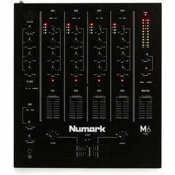Numark M6 DJ Mixer, Audio Interface: 2-in/2-out via USB