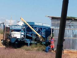 Mobile Batching Mixing Plants