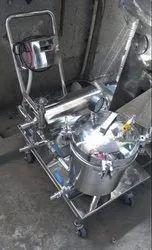 Urdhvaege Semi Automatic Horizontal Plate Filter Press Machine GMP Model