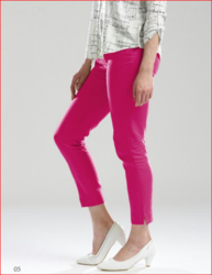 Women Pink Color Casual Pant