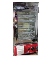 900W Stainless Steel PRIDEBAKE Steamer Electric, For Commercial, Size/Dimension: 380X400X745
