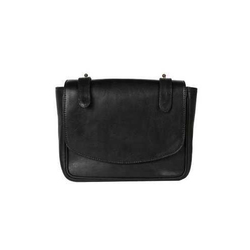 Pristino Black Leather Clutch Purse
