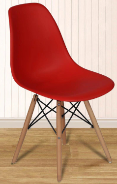 Red Cafe Candy Chair
