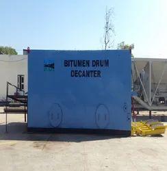 Bitumen Drum Decanting
