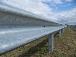 Metal Beam Road Safety Barrier