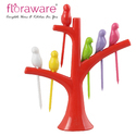Floraware regular Fruit Fork Set Plastic Fruit Fork