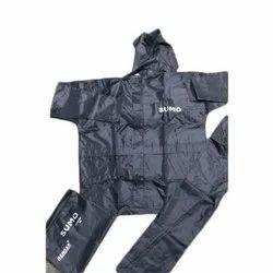 Black Plain Ashoka Sumo Safari Suit, Size: XL and XXL