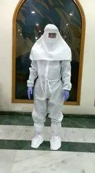 Covid19 Sterile Laminated PPE KIT With  Full Headcover