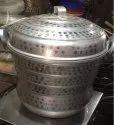 Stainless Steel Idli Pot, 4, Capacity: 1-5 Kg