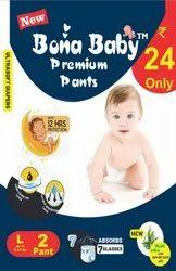 Printed Bona Baby Premium Pants, Age Group: 0-3 yrs