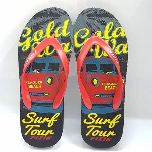 c47c049775b Men Eva Fizik Red Flip Flop Slippers