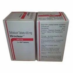 Viroclear 400Mg Sofosbuvir