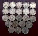 Collection Silver Coin 50 Paise