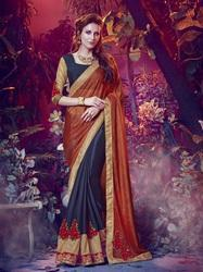 Chinon Chiffon Indian Women Surat Saree