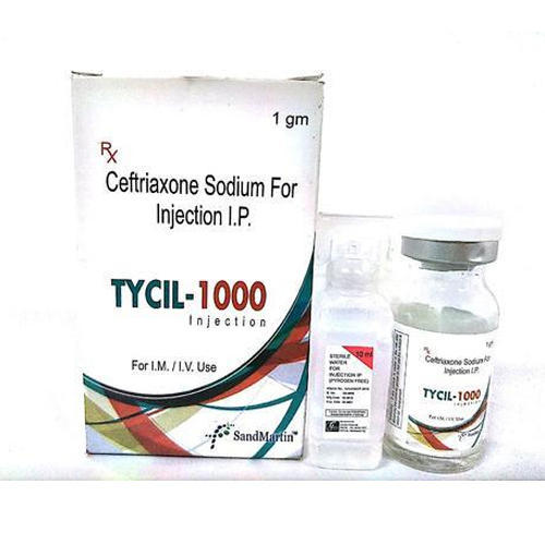 Ceftriaxone Injection, Packaging Size: 1 Gm
