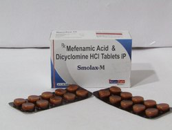 Mefenamic Acid & Dicyclomine HCL Tablet IP