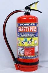 A B C Dry Powder Type Powder Fire Extinguisher 6kg