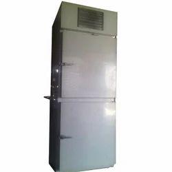 Double Door Vertical Deep Freezer