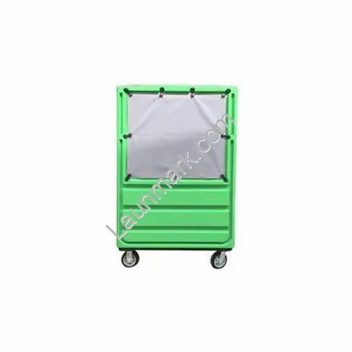 Laundry Linen Trolley Coverd