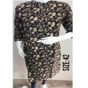 3/4th Sleeves Ladies Printed Cotton Kurtis