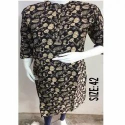 Ladies Casual Cotton Kurtis