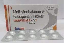 Mecobalamin 500 mcg Gabapentin 300 mcg Alu Pack