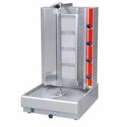 Gas Type Shawarma Machine