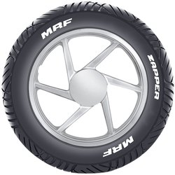 D 100/90-10 56T MRF Zapper Tubeless Scooter Tyre