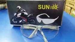 Fiber Glass SUN100 Disposable Safety Goggles, Frame Type: Plastic