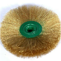 Brass Wheel Brush