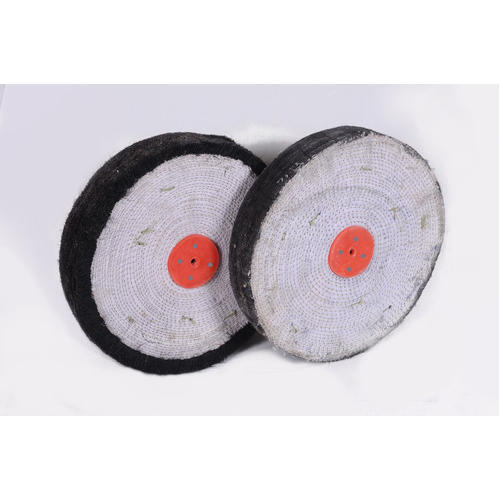 Open and hard Fiber Buffing Wheels
