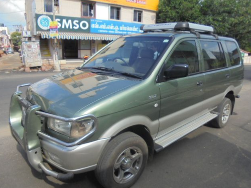 Green Chevrolet Tavera Base 9 Str Bs Iv Diesel Used Car Rs 650000