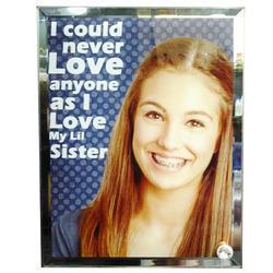 Sublimation Glass Photo Frame (VBL - 02)
