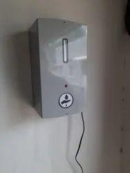 1litre metal body  hand sanitizer dispenser