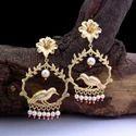 Golden Designer Earring