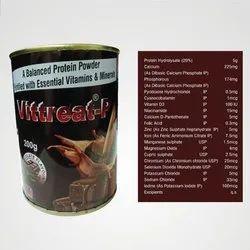 Essential Vitamins and Minerals Protein Powder