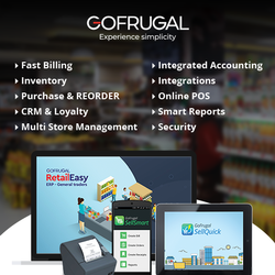 GOFRUGAL Software Retail ERP Software, In Online And On Site
