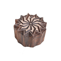 Flower Shape Wooden Printing Block